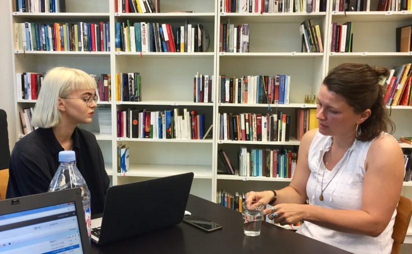 """""""Eine Art Metaidee von Erinnerung"""" – Henriette Vàsàrhelyi im Gespräch"""